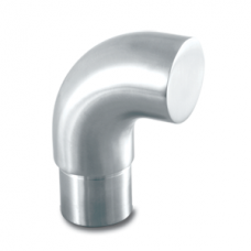 90 Deg Curved Elbow With Cap