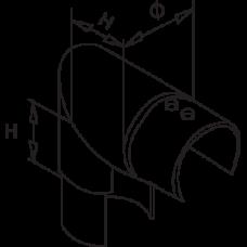 90 Degree Elbow Vertical Diagram