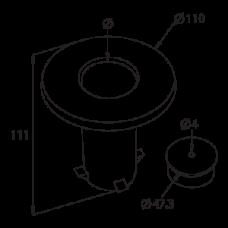 Flush Ground Post Holder