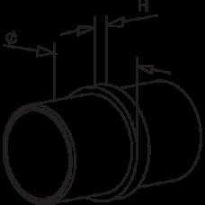 Straight Connector Diagram