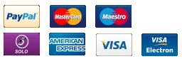 PayPal, Visa, Mastercard and more