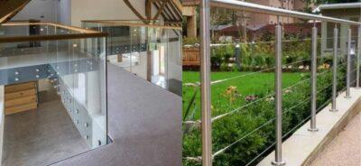 Glass Balustrades V Wire Balustrades